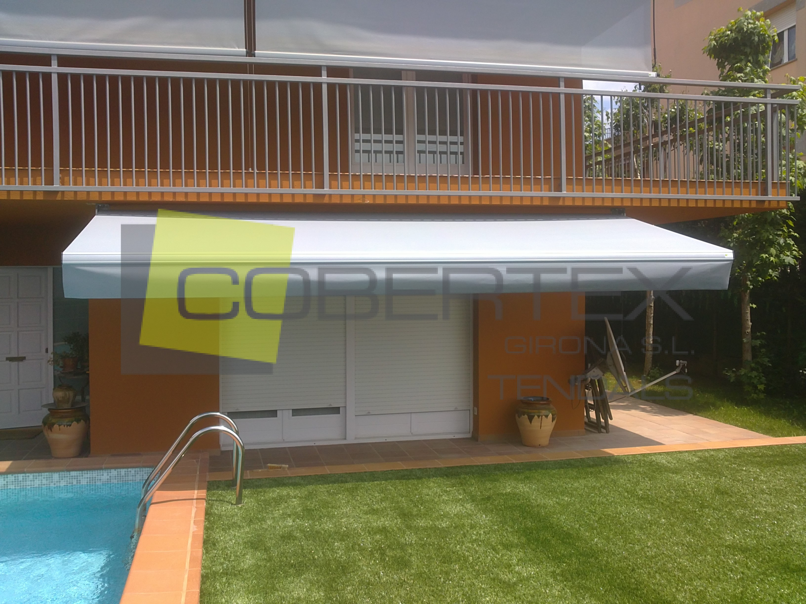 Toldo brazos invisibles particular cobertex for Brazos invisibles para toldos